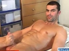 Nicolas straight's Big cock gets wanked in porn in spite of him