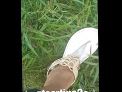 Cum take a walk with me while these sexy feet go exploring ☆FULL VIDEO☆
