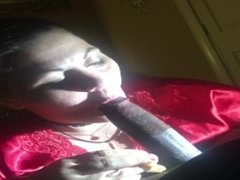 Cecee loves to suck BBC