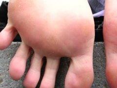 Ultra HD Big Feet Soles and Toes