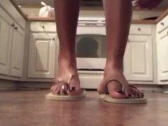 Ebony flip flops (part 2)