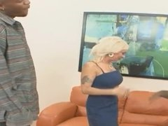 Blonde PAWG with Big Tits Fucked Hard and Gets Face Full of CUM