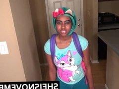 Black Teen Ebony Amateur Fuck German Step Dad Secrete POV Blowjob & Sex
