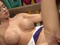 Big Tit Basketball Sluts LOU LOU & PAIGE ASHLEY Have Hot Lesbian Sex