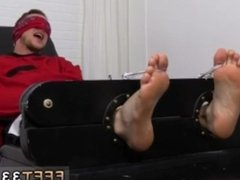 Hairy gay mens feet movietures Kenny Tickled