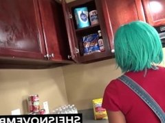 White Step Brother Sex Black Step Sister Kitchen Blowjob Sex Ride Ebony 18