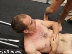Straight college boys get bored gay porn