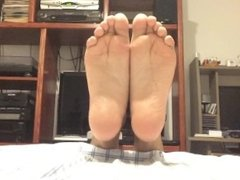E.C.2's Sexy Soft Wrinkled Soles And Curled Toes