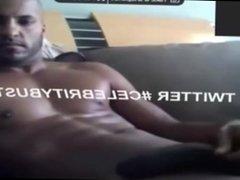Ricky Whittle jerks off 2nd video