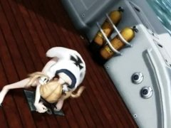 MMD Do what you want, orgy boat