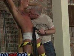 Awesome male rope bondage gay xxx Slave Boy
