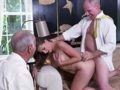 Silver daddies hot old man punish Ivy