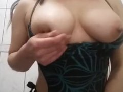 Hot latin girl La Pepina Chilena masturbating big tits amateur dedea