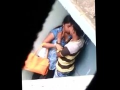 couples kissing and smooching hidden cam