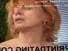MILF Grannie Stale American Pie Masturbating and Rubbing Her Pussy