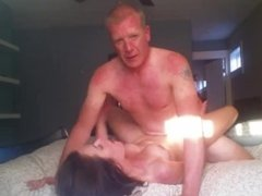 Hot Horny Playboy Milf Passionately Fucked In Her Bed