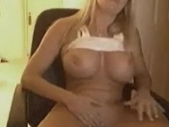super HOT milf stripping off her panties.
