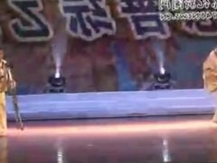 Chinese sex amputee Dancer