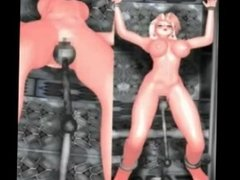 Female space cadets (futa on female) - no sound