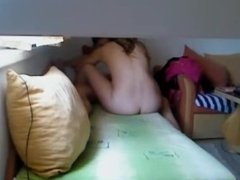 Step brother fucks step sister and films it !!