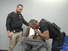 Gay twink handcuffs with cop xxx