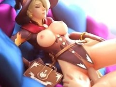 Witch Mercy Getting Fucked