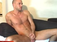 Don't play with my big cock, i'm not into guys. David real french straight