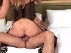 At the nasty bitch likes to play with so many cocks
