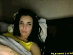 18 Year Old Teen Masturbate on Webcam