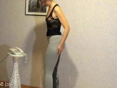 Peeing in Yoga Pants Activewear