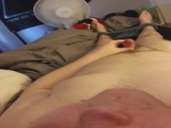 Young guy with Small Dick Jerks Off and Cums