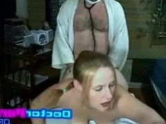 dirty doctor fuck his patient hardcore while treating - doctorporn.org