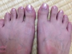 Cute Japanese Feet and Toes