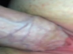 Slow-mo in my wife's tight pussy