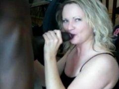 mature wife fucks you bull, husband films