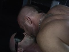 Blindfolded CockSlave gets used and abused