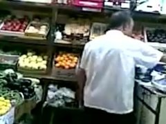 Aunty fucking hot in shop