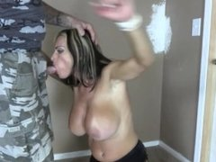 Goldie Blair bound and fucked