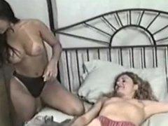 lesbian scarf bondage and teasing