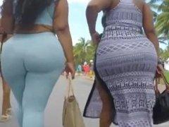 Big ass in blue