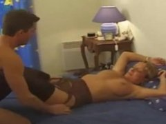 French mature mom blowjob licking pussy and fucked