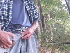 Edging session on the banks of the river in my dirty jeans #10