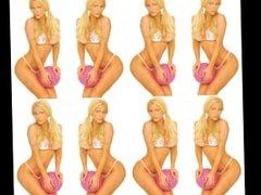 Kacey Montoyo KTLA Weather Girl Thong Bikini Show