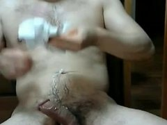 Asian Chubby Jerk - Off 9