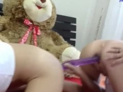 FF FOXANDFOXY ASS TO ASS WITH DOUBLE DILDO