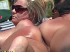 Sexy Naked Horny Female Nudists beach Spycam Voyeur HD
