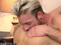 Gabriel Phoenix And Koby Lewis have a sexy gay party in bed