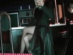Gangbang Archive Hot MILF in stockings fucked by in the club