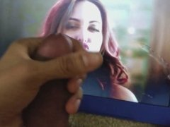 Sonakshi Sinha Cum Tribute #9 With Lubed Dick & Sex Toy