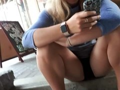 Spread Legs Pretty Teen